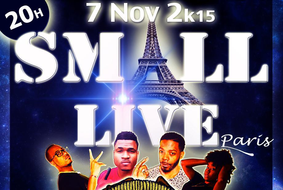 Concert unique des Smaller'z à Paris le 7 novembre