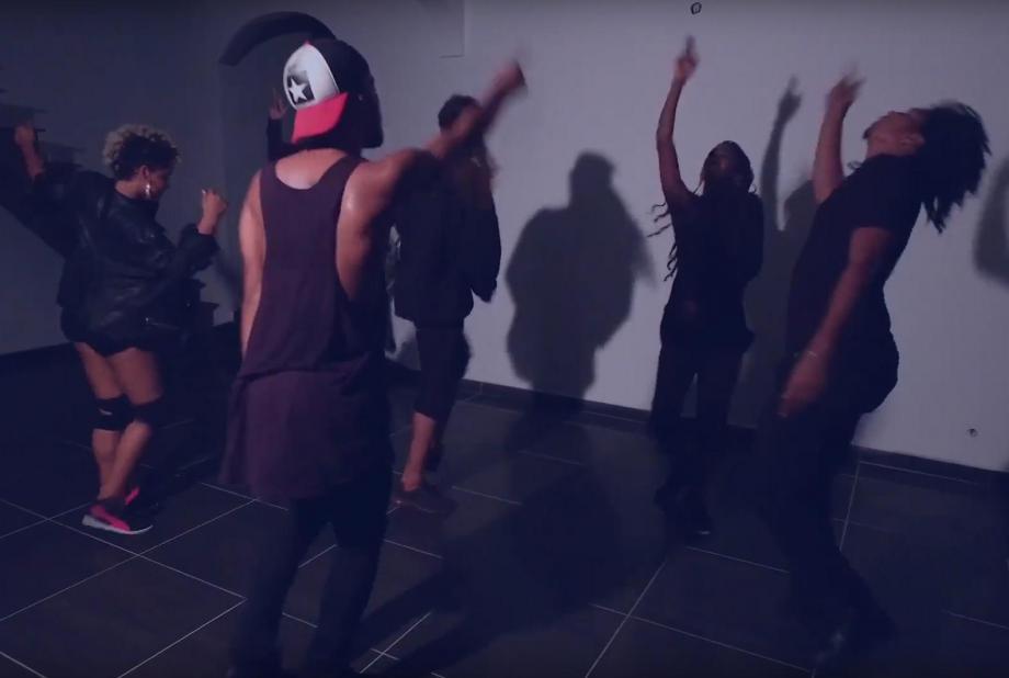 Chorégraphie de la Team Kalash