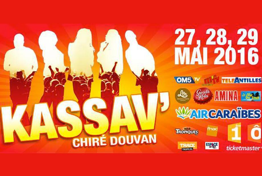 Kassav au Zénith - 27-28 et 29 mai 2016
