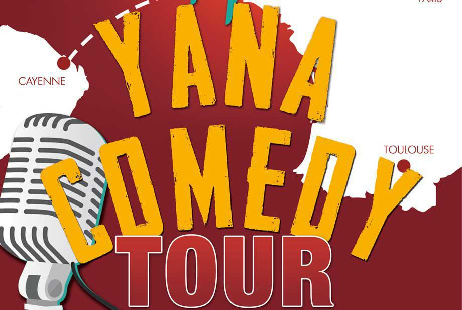 Yana Comedy Tour est à Paris