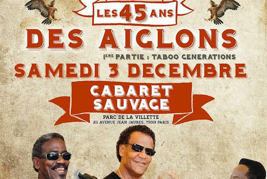 Venez fêter les 45 ans des légendaires Aiglons