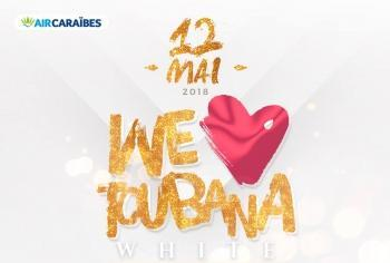 WE LOVE TOUBANA WHITE BIRTHDAY