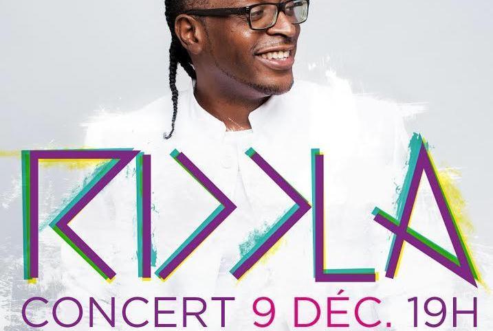 Riddla en concert le 9 décembre à Paris
