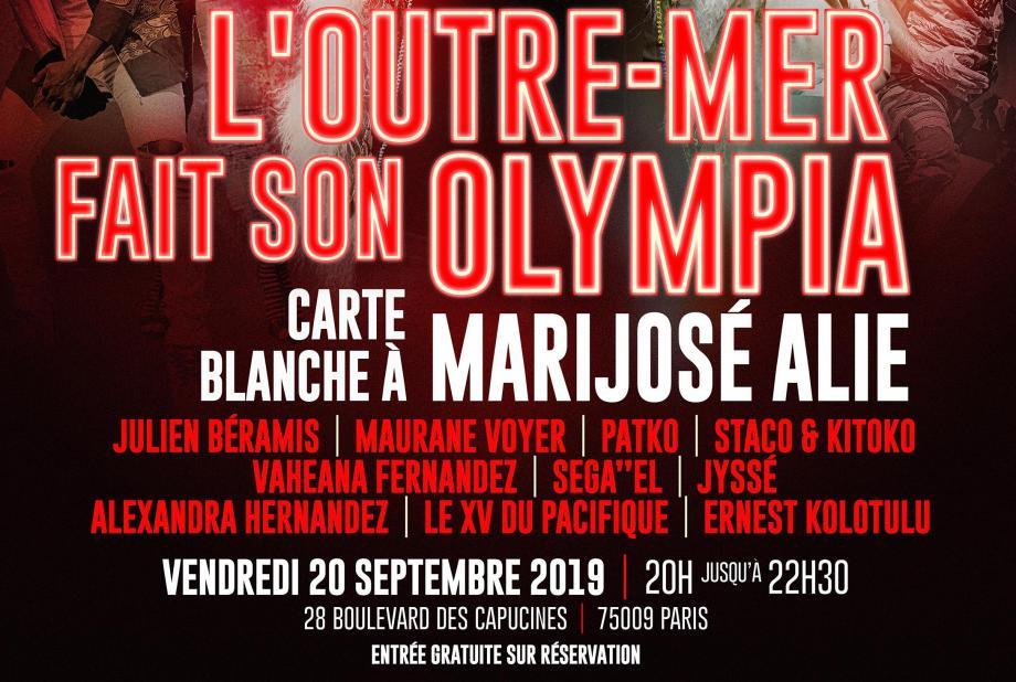 L'Outremer fait son Olympia 2 : un concert dédié aux  talents ultramarins