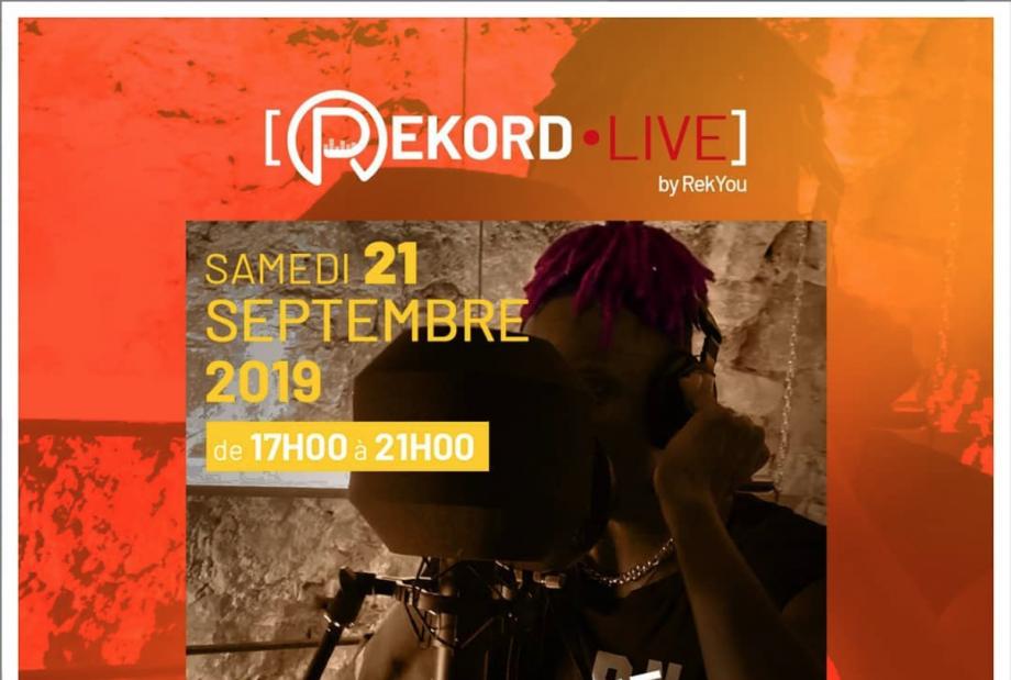 [EVENTS] Découvrez le REKORD LIVE, le studio éphémère.