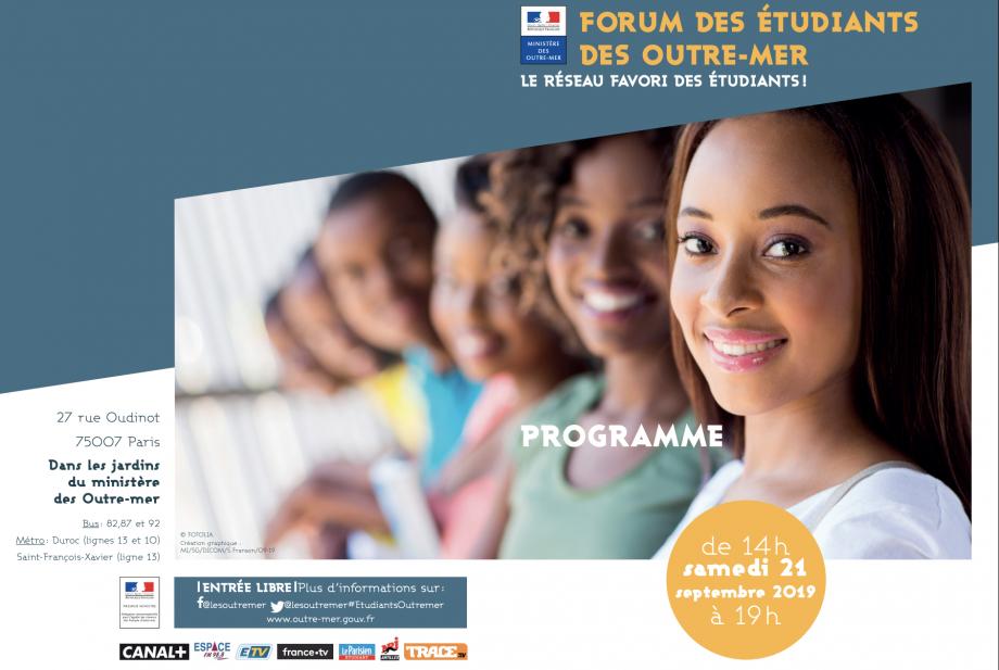 Le forum des étudiants des Outre-mer  2019