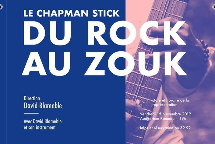 Venez découvrir l'instrument Chapman Stick à Nanterre