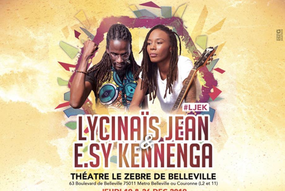 Lycinaïs Jean & E.sy Kennenga en concert courant décembre à Paris