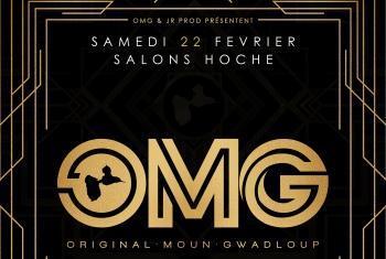 OMG - Original Moun Gwadloup c'est ce samedi 22 février