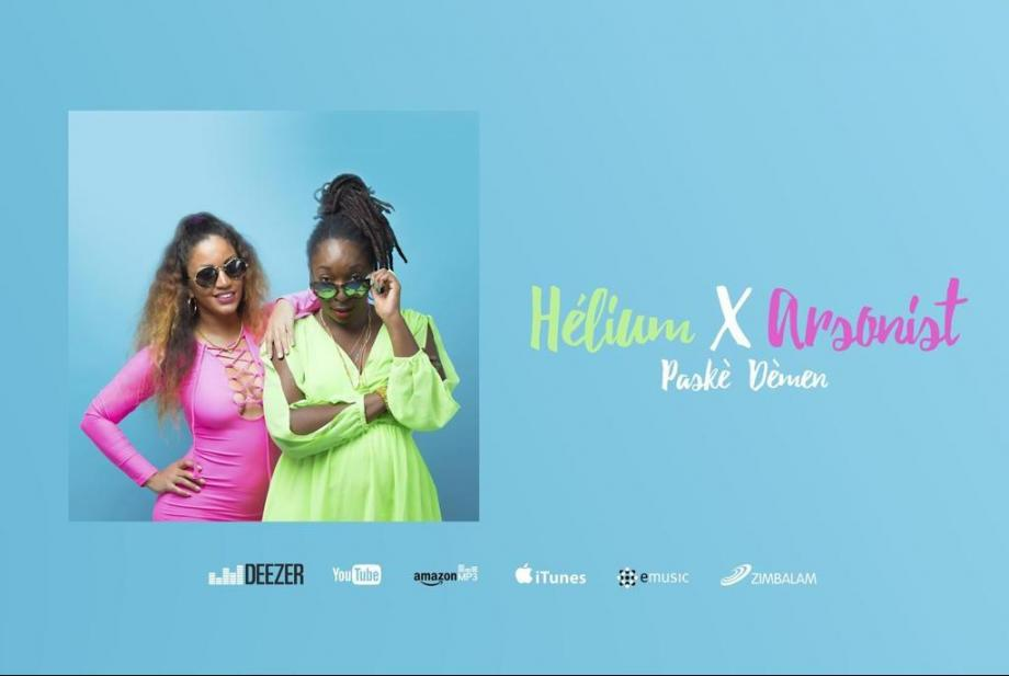 Nouveauté Hélium - Paskè Dèmen feat Arsonist