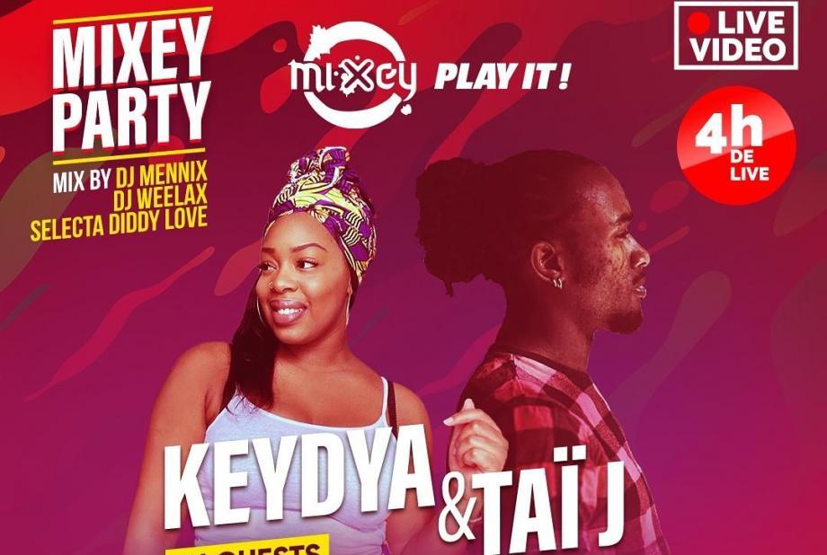 Mixey.fr est de retour ! Les premiers invités sont Keydia et Taï J
