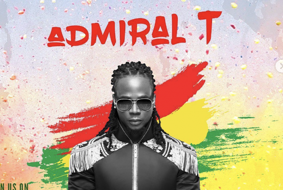 Admiral T en show lors du concert One Love Together (23 et 24 octobre 2020)
