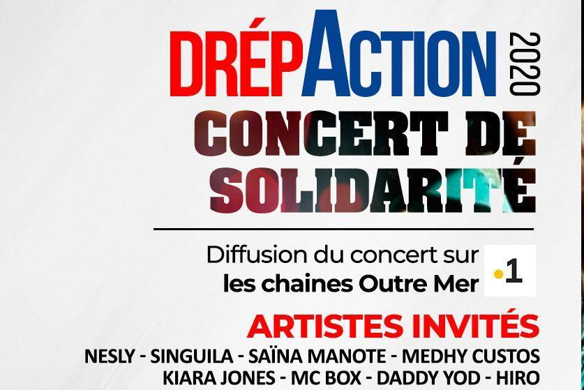 Drepaction 2020 : Le concert de solidarité ce week-end en TV