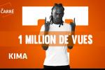 Kima atteint le million de vues avec le Carré de Trace