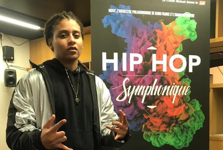 Meryl au Hip Hop Symphonique ce samedi