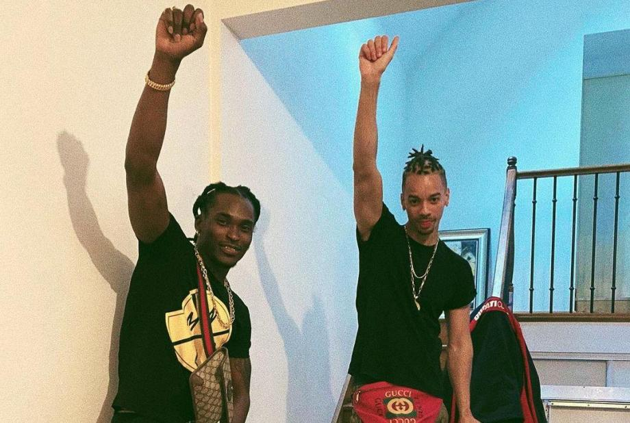Pompis et Lion P le son du duo guyanais arrive