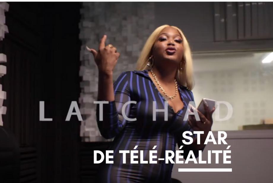 La Tchad, star du show de téléréalité Vis ma Life