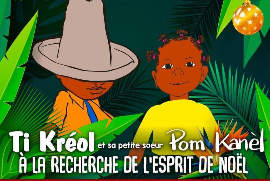 Le spectacle Ti Kreol et Pom Kanel sera disponible en ligne