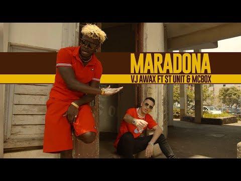 Vj awax ft st unit & mcbox - maradona